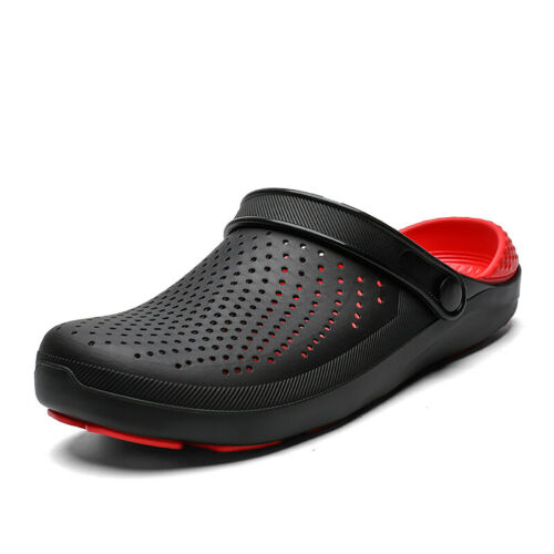Summer Men Beach Garden Clogs Sports Pool Shoes Slip On Mules Sandals Slipper B
