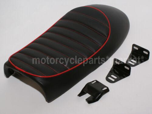 YAMAHA Red Universal Cafe Racer Seat XJ550 XJ650 XS650 SR125 SR250 SR400 SR500