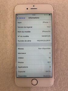 Apple iPhone 6s - 64 Go - Or Rose (Désimlocké)