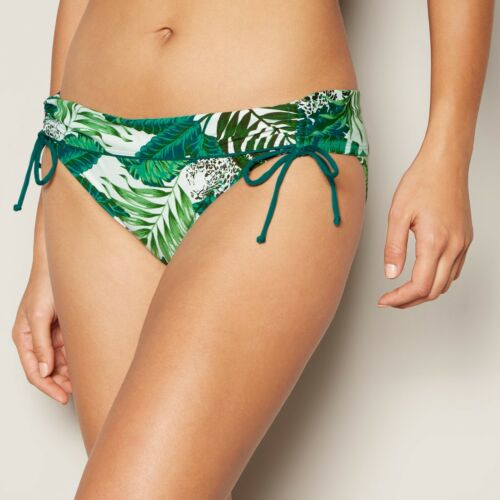 MANTARAY Debenhams green jungle print bikini pant brief bottoms 16 44 Us 12 BNWT