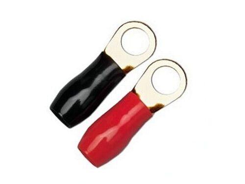 Sinuslive Ringkabelschuhe für 6mm² Loch 8mm 10 Stück Ringösen