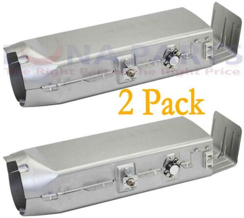 2 Pack DC97-14486A Dryer Heater Element w Thermostats AP4342351 PS4220205