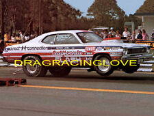 """Butch Leal """"the California Flash"""" 1975 Plymouth Duster B/MP PHOTO!"""