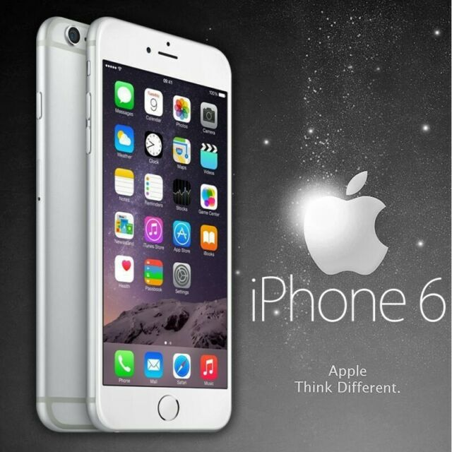 """Smartphone Apple IPHONE 6 64GB Silver Gris 4,7"""" 6G Ios Touch Id 8MPX"""