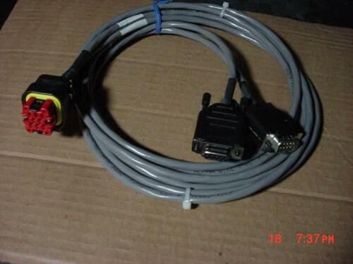 azure dynamics dmoc 645//445 programing cable  rs232//can solectria