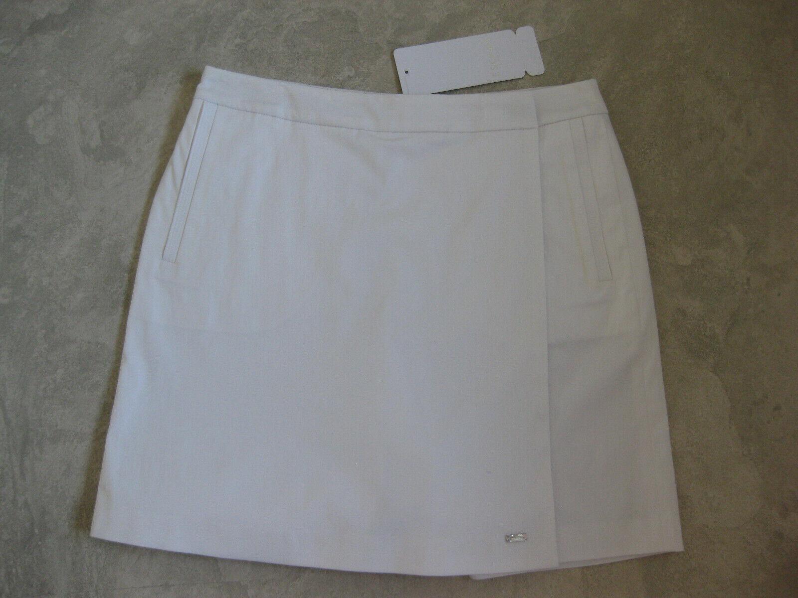 Damen Rock /Skort /Rock-Shorts von Escada Sport Gr.34 (weiß)
