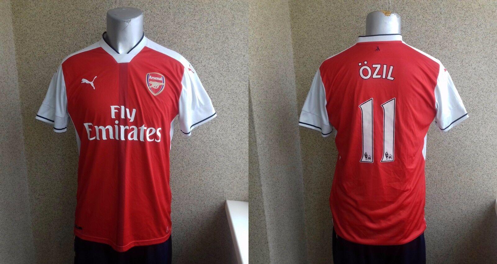 Mesut Özil Arsenal Londres 2016 2017 Hogar Camiseta De Fútbol L Jersey Puma Soccer
