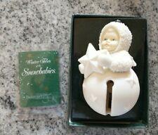 FIRST STAR JINGLEBABY  Ornaments # 68586 DEPT 56 retired SNOWBABIES