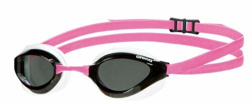 Arena Python Smoke//White//Fuchsia Swim Goggles FINA Approved Competition Racing