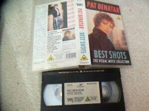PAT-BENATAR-BEST-SHOTS-VHS-12-TRACKS-JUST-4