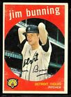 1959 TOPPS BASEBALL DETROIT TIGERS PHILLIS JIM BUNNING HOF CARD #149 EX