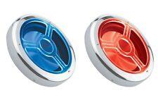 """AUDIOBAHN CD312 12"""" RED/BLUE LED ILLUMINATED CHROME SUBWOOFER SUB SPEAKER GRILL"""