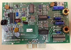 Vintage Apple II disk ][ analog board, used for Apple II diskdrive repair