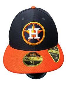 New Era MLB Houston AstroWorld 59Fifty Baseball OSFA Hat Size 7 3/8 Fast Ship