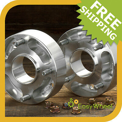 1in 4x110 Wheel Spacers Yamaha YFM 450 600 660 700 Rhino Grizzly Spacer 2 pc