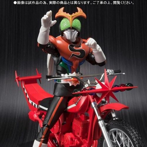 FROM JAPAN S.H.Figuarts Kamen Rider Stronger /& Kabutolaw Set Action Figure