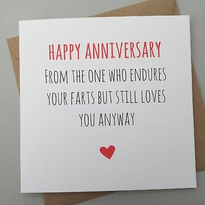 BEST DECISION FUNNY ANNIVERSARY CARD// HUMOUR// CHEEKY//SARCASM //HUSBAND WIFE FUN