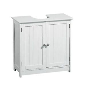 New Under Sink Cabinet Bathroom Kitchen Wall Mounted Cupboard Wooden Basin Units Ebay