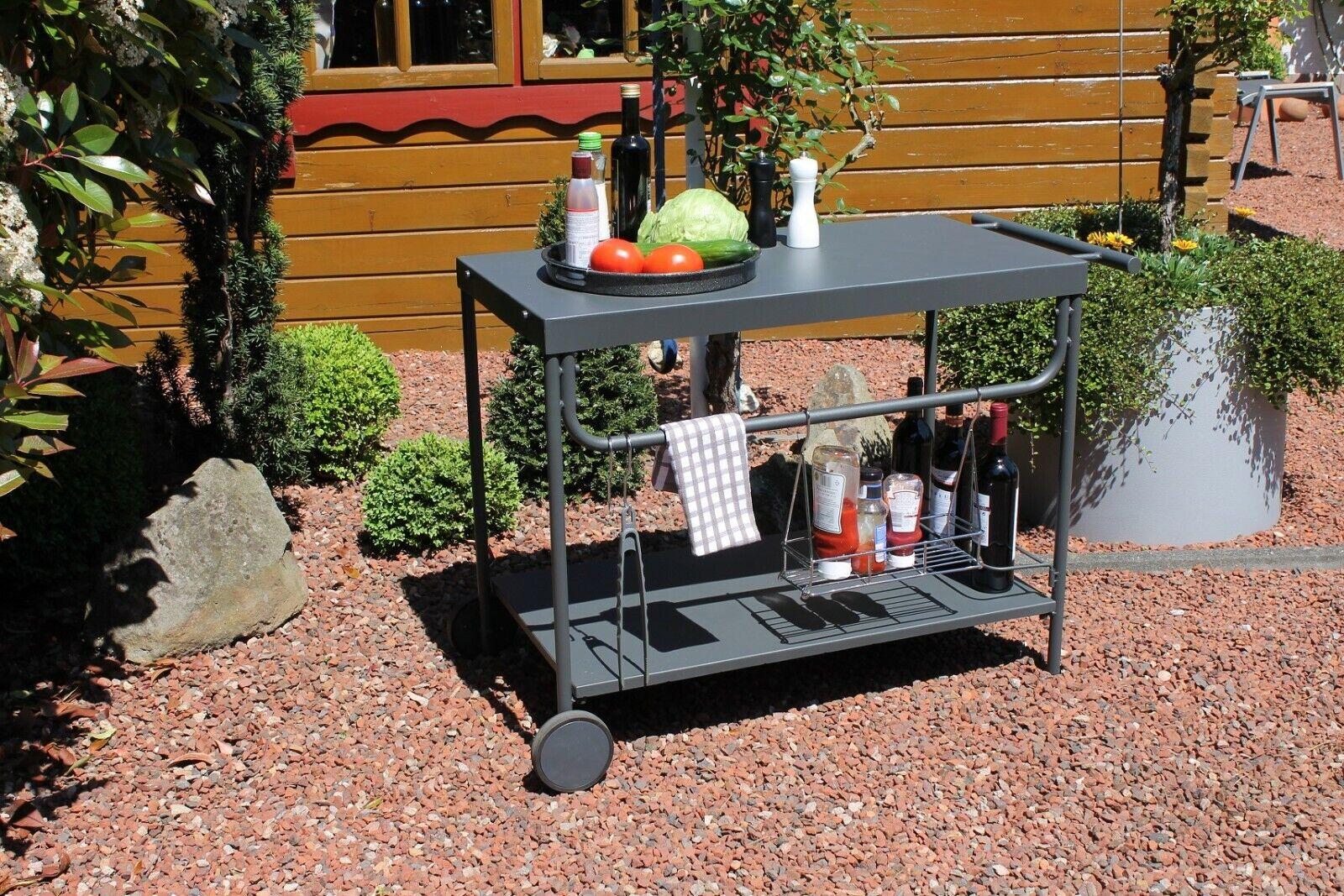 Keter Garten Grilltisch Unity L Multifunktional BBQ Beistelltisch Lagereinheit