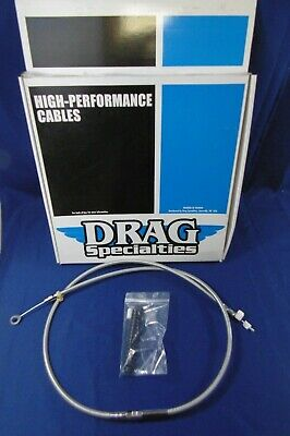 """Drag 62-11//16/"""" Braided Clutch Cable for Harley 08-13 FLH FLT 38667-08A 0652-1490"""
