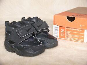 d27b100b47 Rare Nike Air Diamond Turf Deion Sanders Falcons Black / Black 2.5C ...