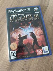 Jeu PS2 Star Wars Épisode III La Revanche Des Sith Occasion Complet PlayStation