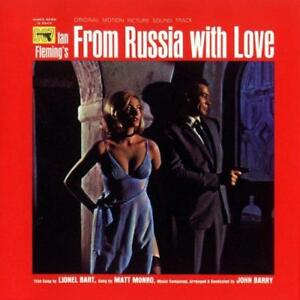 From-Russia-With-Love-Soundtrack-Various-Artists-NEW-CD