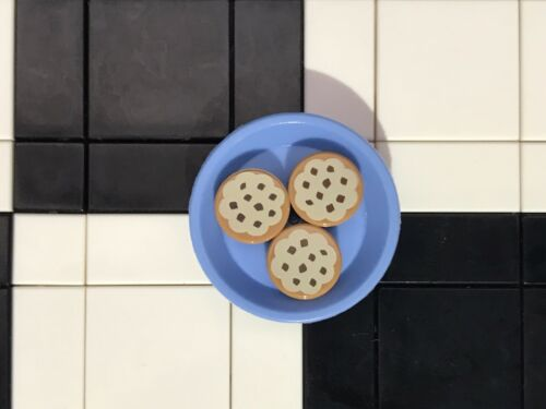 Cookies With Dish Bakery Bread Utensil Lego Minifigure Food
