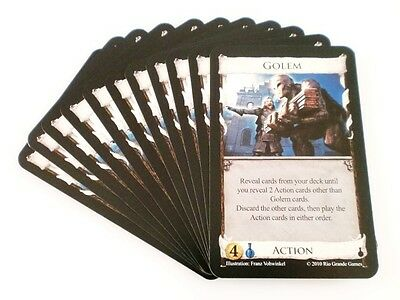 Dominion Alchemy Card Game Replacement - Golem Card 11X