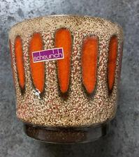 Vintage SCHEURICH KERAMIK Fat Lava Pottery Vase 806-14 West German Pottery b21