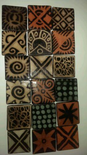 Honduran decorative hand made tiles