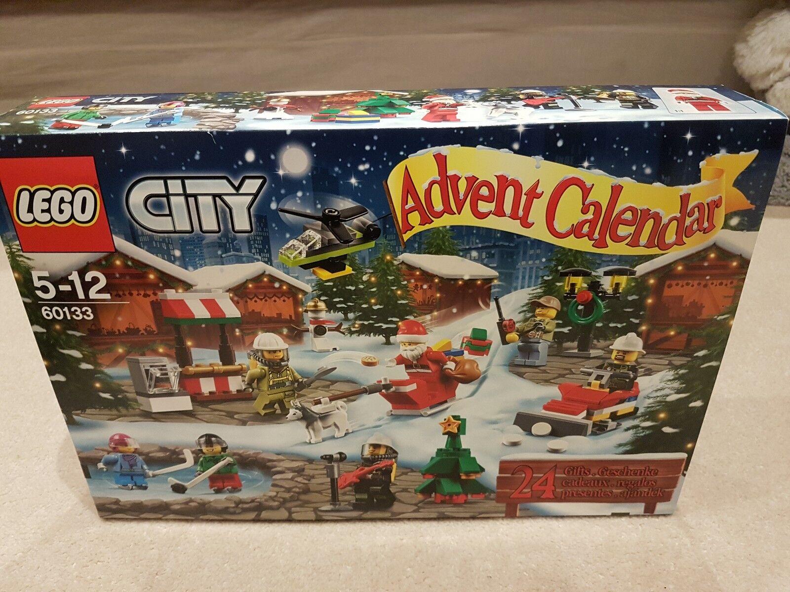 LEGO City 60133 Advent Calendar  BNIB Christmas RARE 2016 RETIRED SET MINT