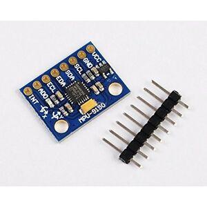 2x Mpu 9150 9dof 3 Axis Gyroscope Accelerometer Magnetic