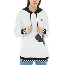 Vans x Disney Mickey Mouse Checkerboard Pullover White Black Women VN0A3UHGYB2