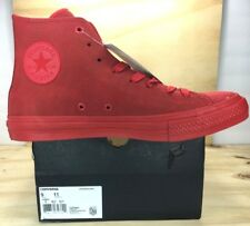 0c8fa3aaf9c032 Converse Chuck Taylor CTAS II 2 Hi Mens SIZE 9 Shoes Sneakers Red Gum  155764C