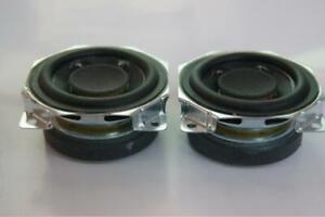 "2pcs 2/"" inch 52mm 8Ω 10W Square Full-range speakers Loudspeaker Dual magnet"