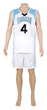 Kuroko no basuke Cosplay Rakuzan Akashi Seijuro #4 Basketball Jersey 1st