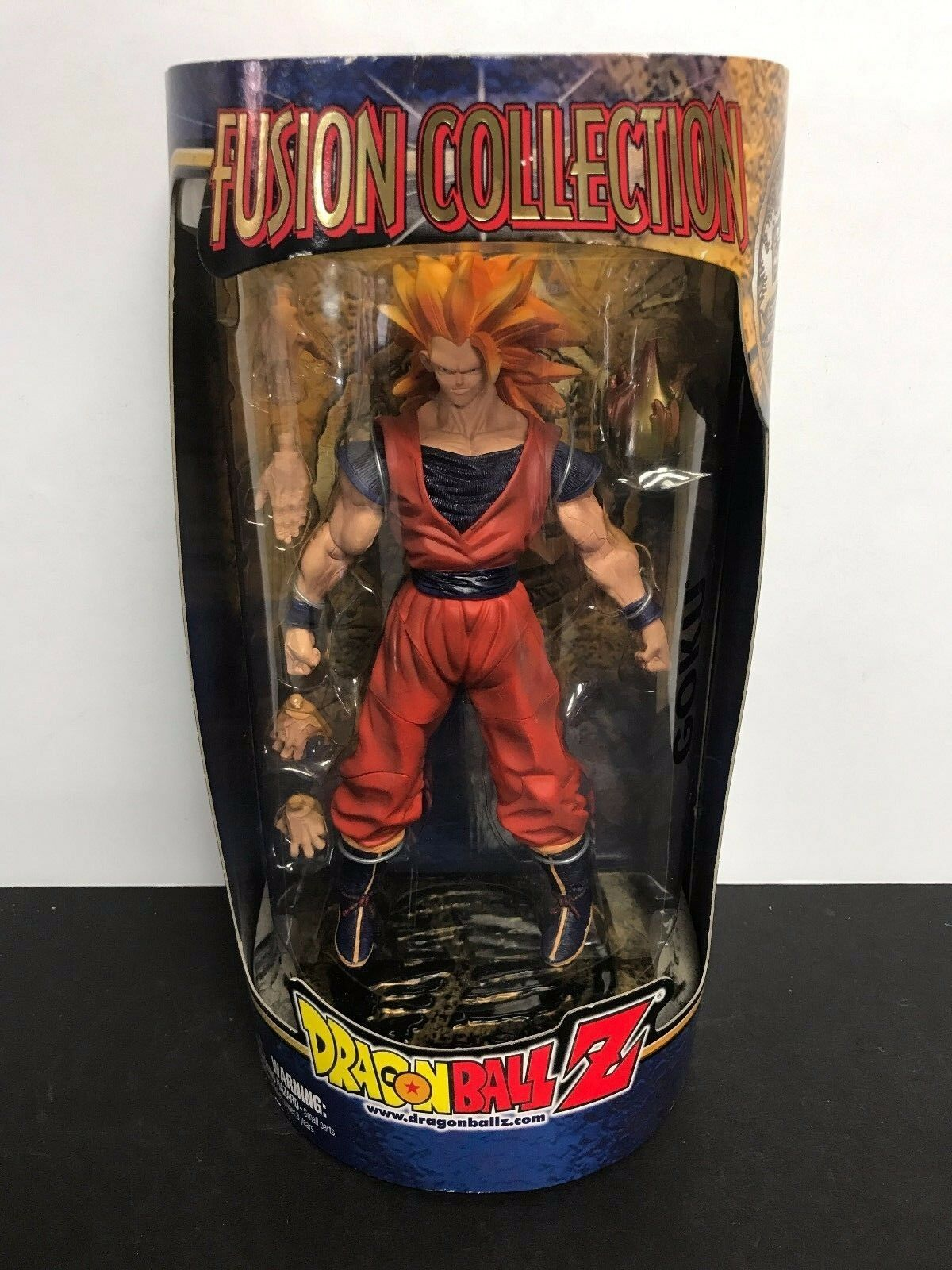 GOKU Super Saiyan 3 Goku Dragonball Z 2002 DBZ Fusion Collection action figure