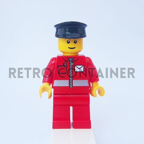 1x post010 Postino Town Omino Minifig Set 9348 Postman LEGO Minifigures