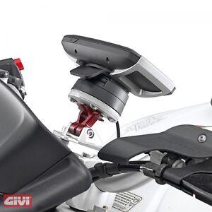 GIVI-ALU-Navi-Halter-Set-Anbausatz-Tom-Tom-Rider-40-400-Thiumph-Tiger-Sport-1050
