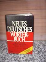 Neues Deutsches Wörterbuch, aus dem Lingen Verlag