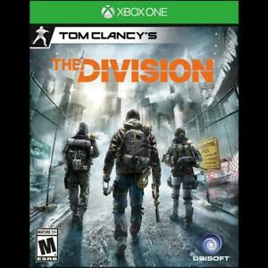XBox One Tom Clancy's The Division Video Game with original case