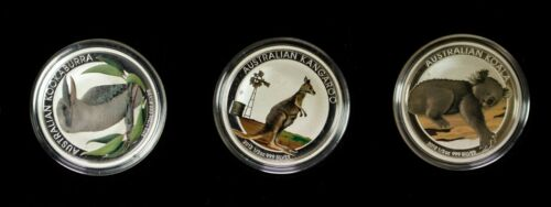 2012 Australian Outback Three Coin Silver Set Item#T10468-72