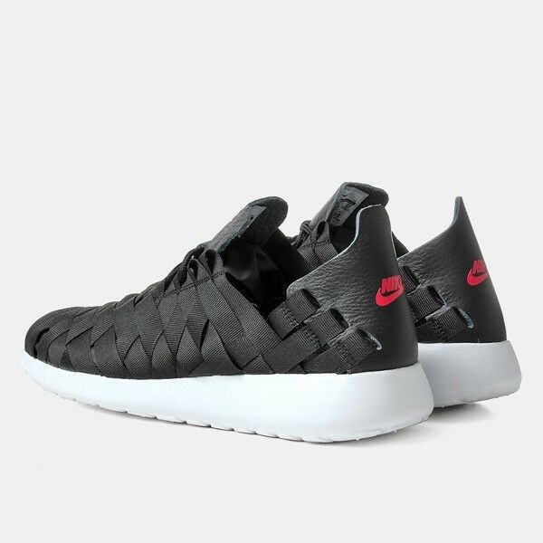 ⭐ Nike Roshe Run Woven Talla 7 Hombre Hombre Hombre One Running Free Gym Negro Trainer 90 Sneaker 366c04