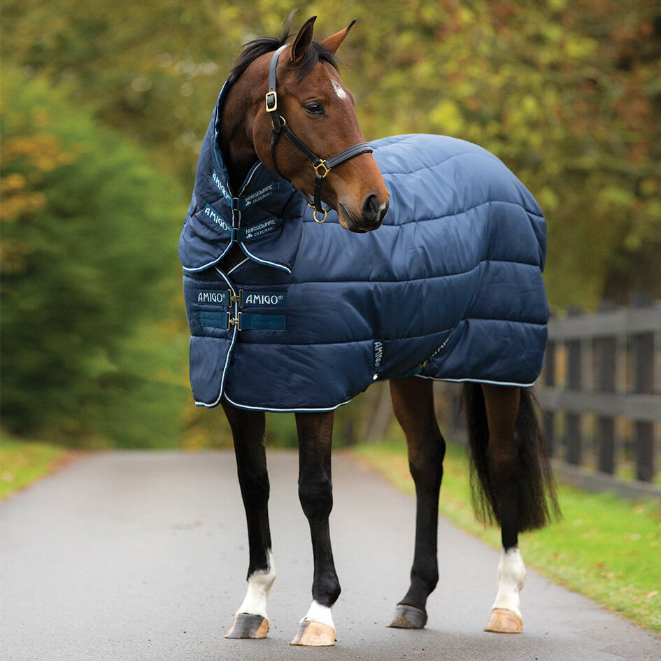 Amigo Insulator Pony Plus Medium Weight BREATHABLE LINER SYSTEM DETACHABLE HOOD