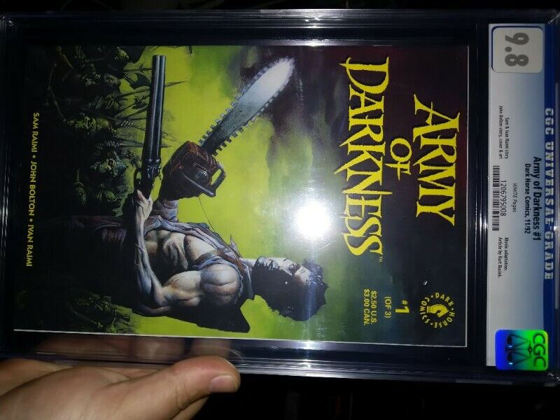 Army of Darkness (1992 1st Series- 1st Print) CGC 9.8 - FREE COURIER SA ONLY