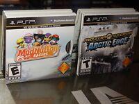 2 Sony Psp Games: Modnation Racers / Motor Storm: Arctic Edge (sony Psp)