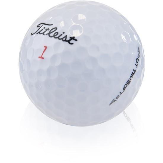 100 Titleist DT Trusoft Mint Used Golf Balls AAAAA
