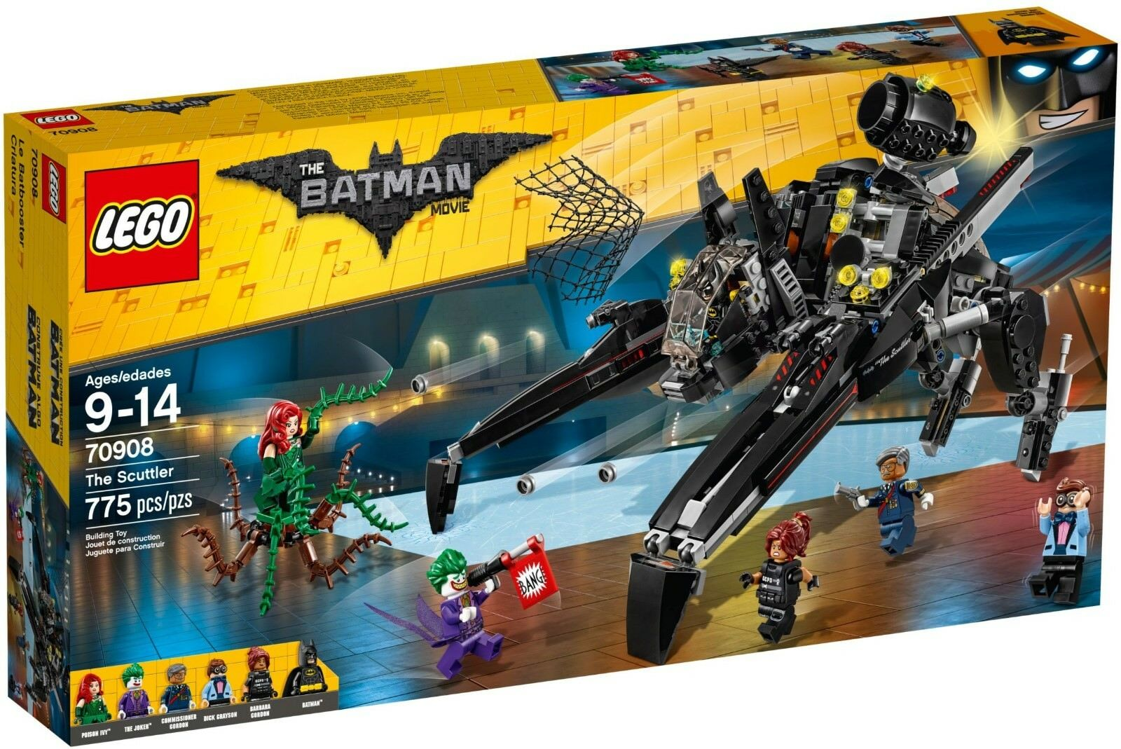 LEGO 70908 Batman Movie The Scuttler BRAND NEW SEALED BOXHARD TO FIND