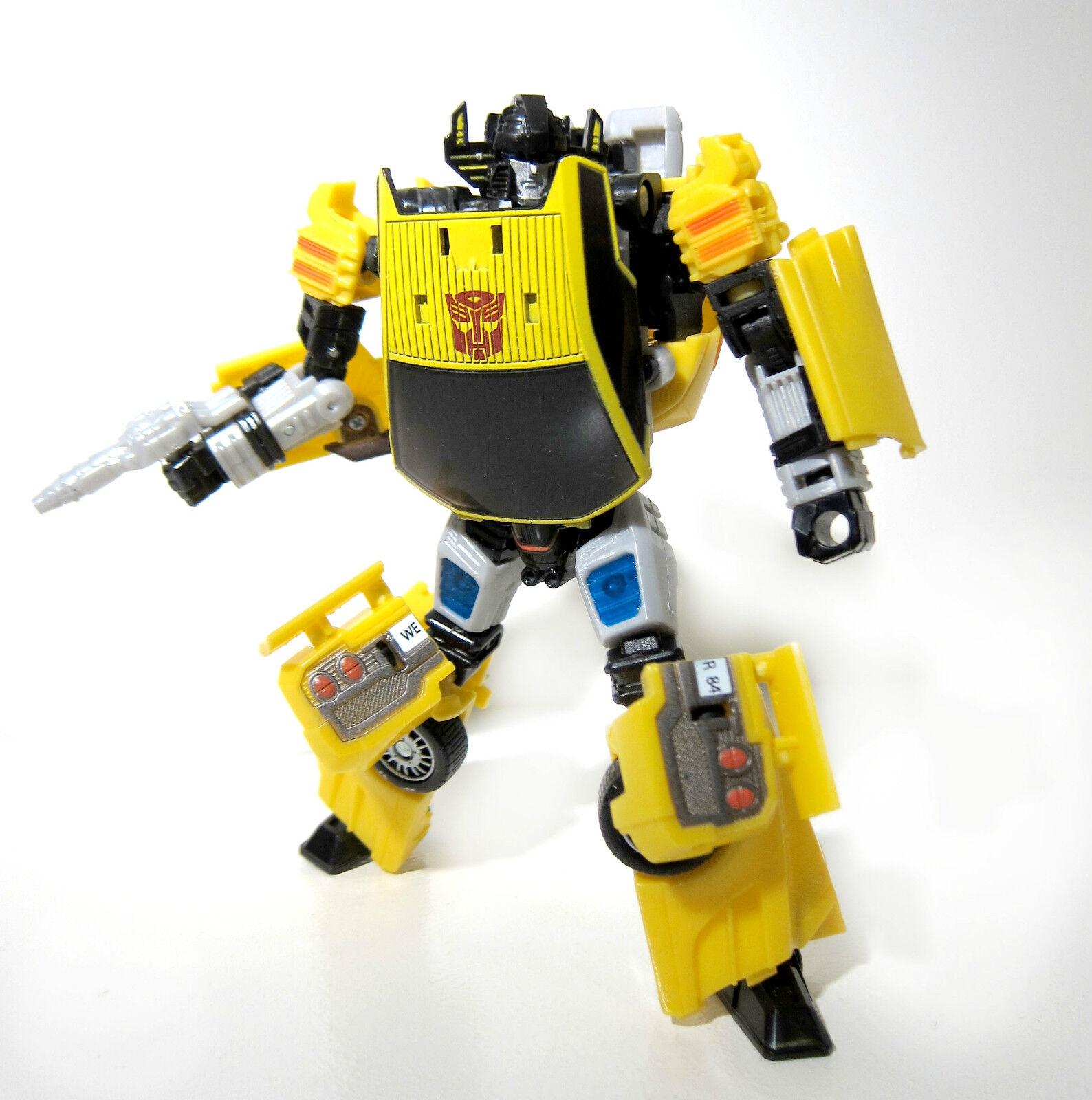 Transformers Henkei   Generations   Classics   united Sunstreaker